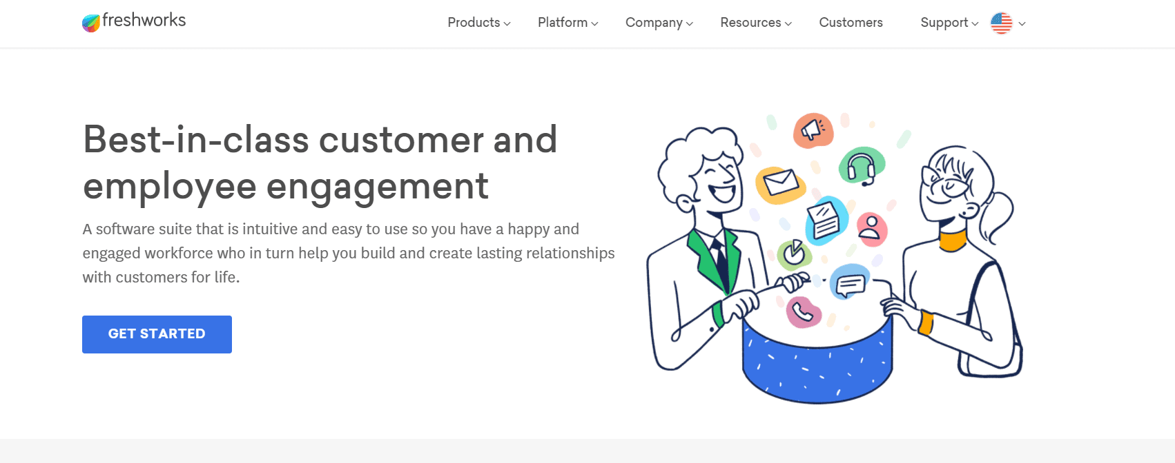 Best CRM For Sales - Freshworks overview