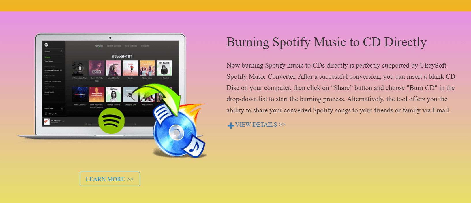 UkeySoft Spotify Music Converter cd