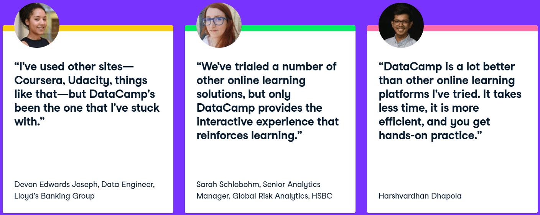 DataCamp Read User Review