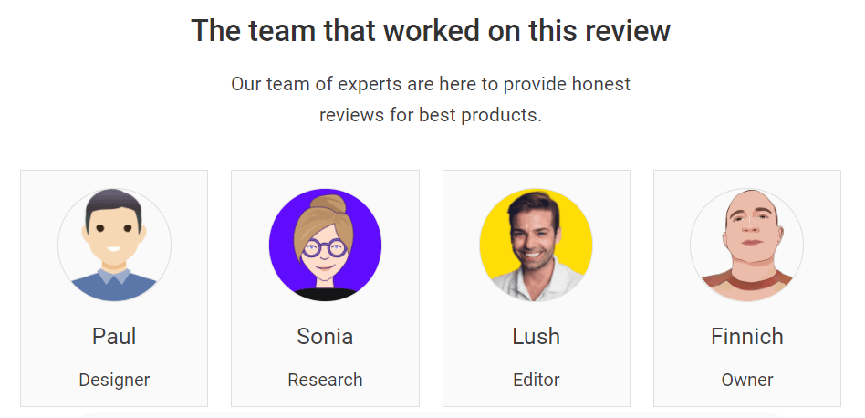 Expert Team for review