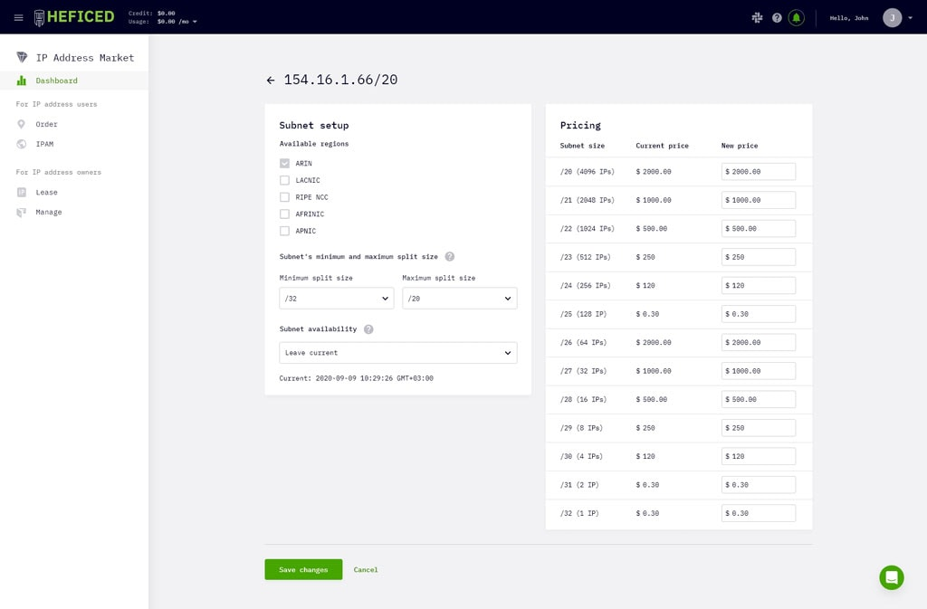 Heficed Review - ISO