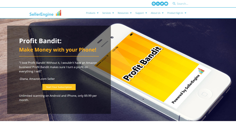 Profit bandit scouting app- scanpower review