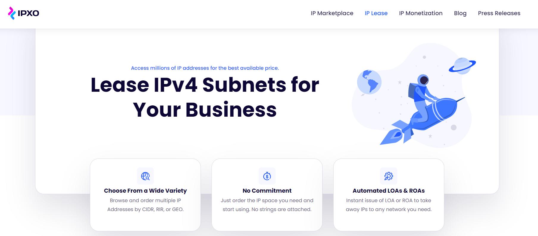 ipxo ip lease- ipxo review