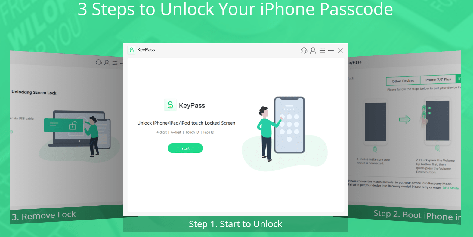3 Steps to Unlock Your iPhone Passcode