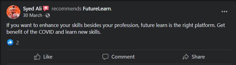 FutureLearn Facebook Review