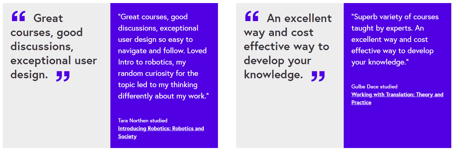 FutureLearn Students Review