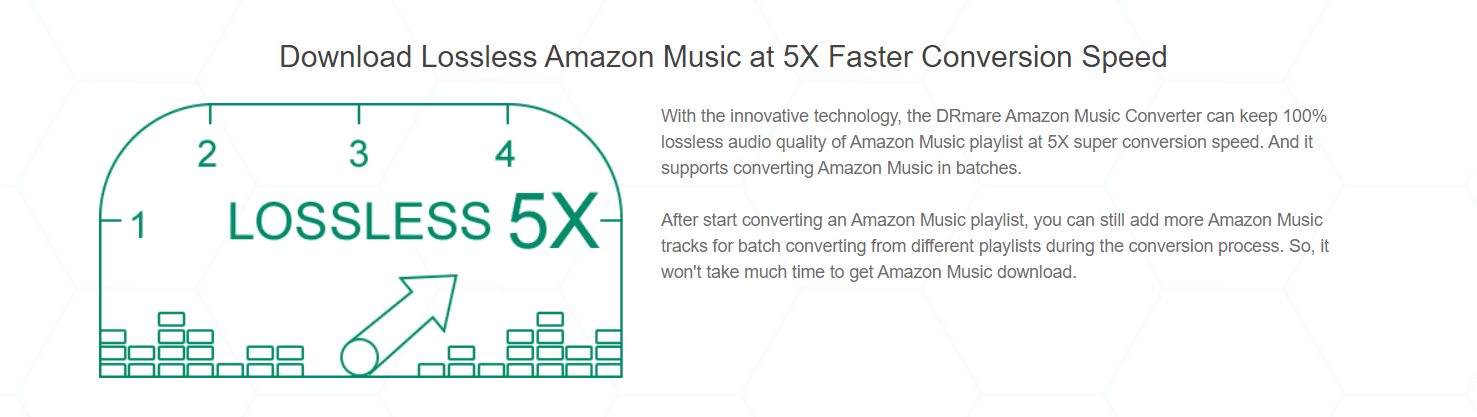 Run Fast and Keep Lossless Audio Quality