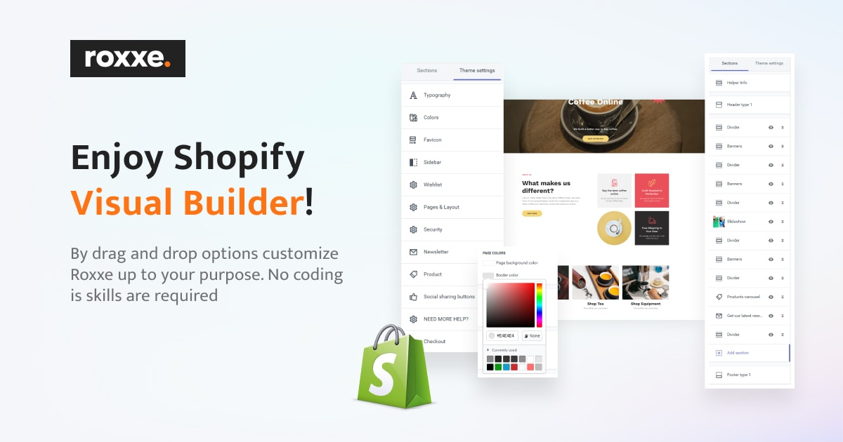 roxxe review- Shopify Builder