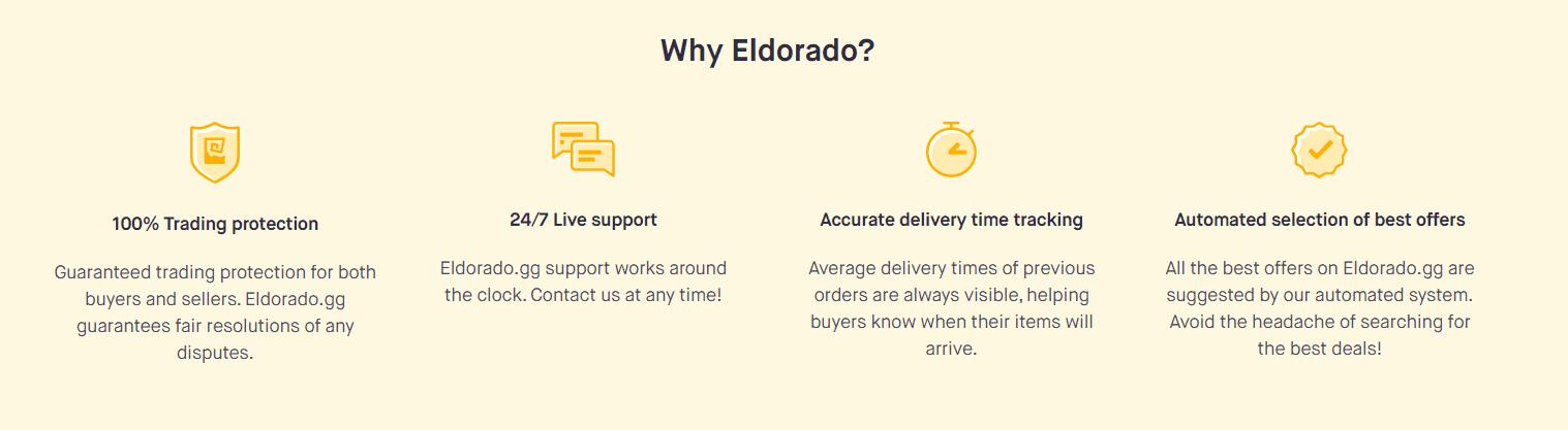 Why Choose Eldorado -Eldorado.gg Review