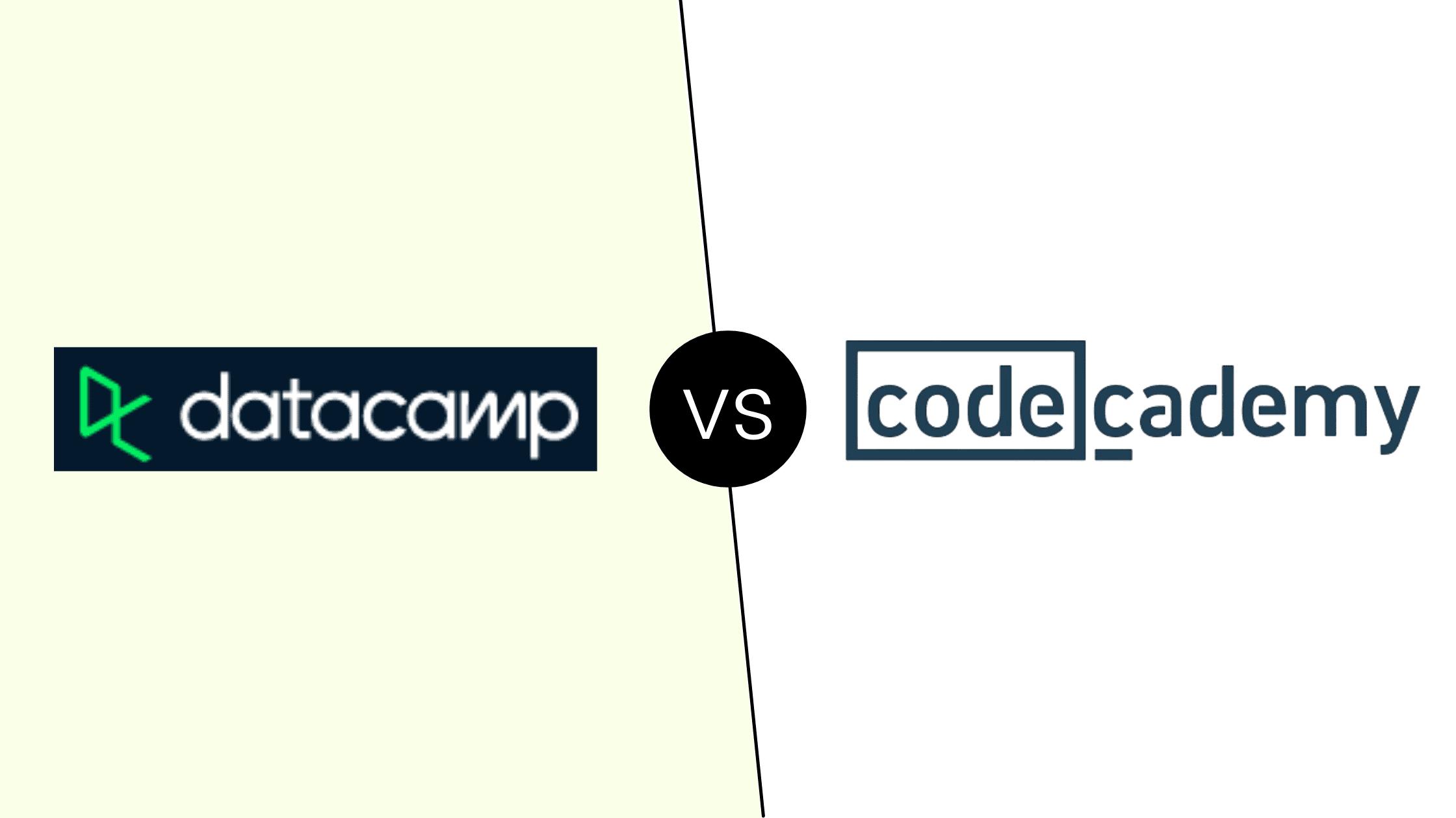 Datacamp vs Codecademy