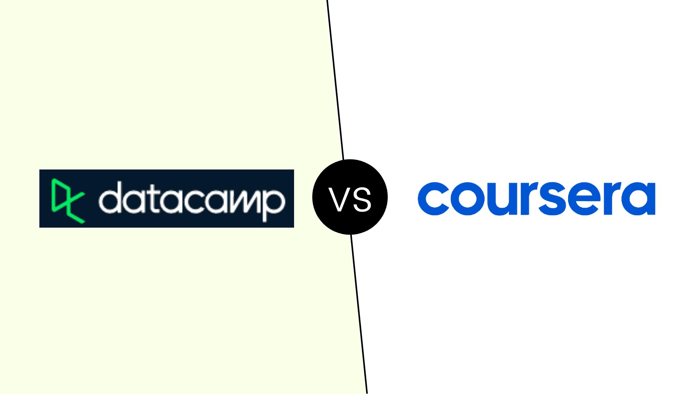 Datacamp vs Coursera