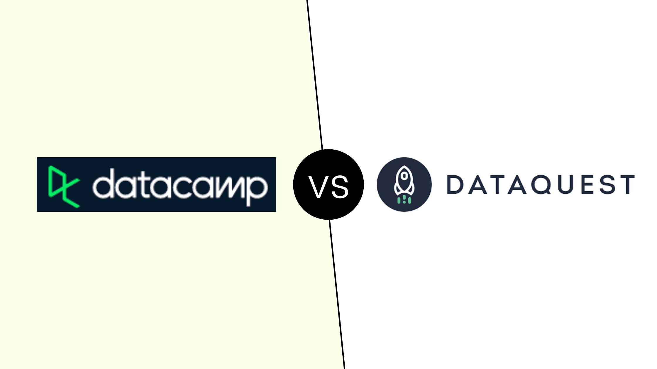 Datacamp vs Dataquest