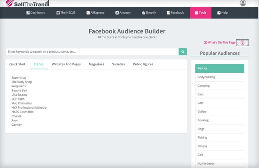 Facebook Audience Builder