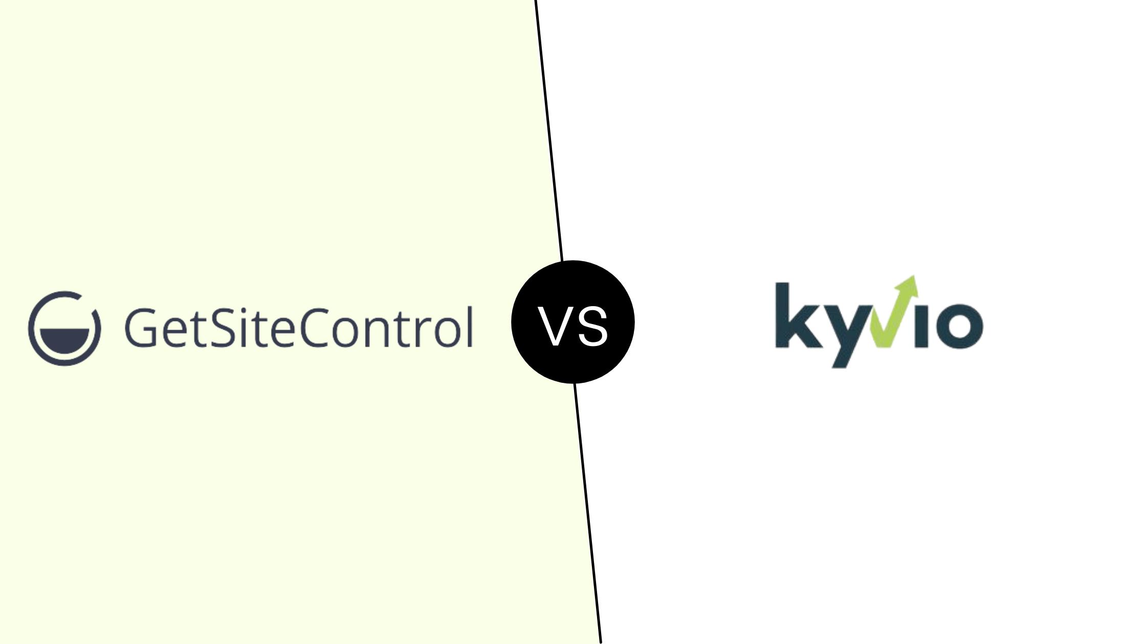 Getsitecontrol vs Kyvio