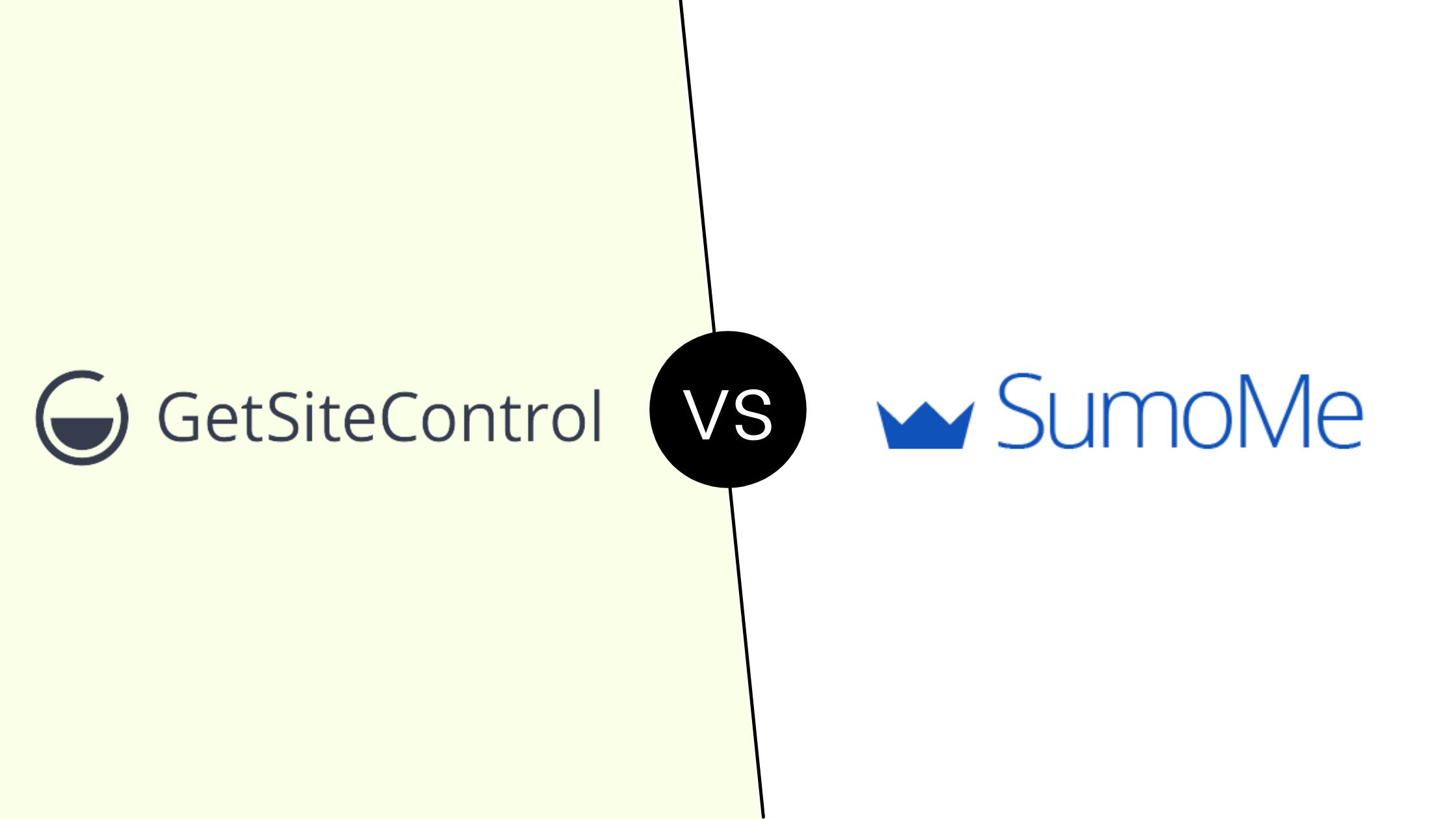 Getsitecontrol vs SumoMe