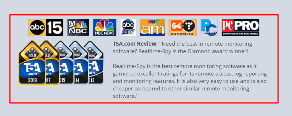 Realtime spy Reviews