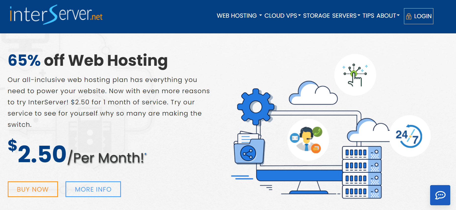 interserver hosting