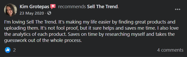 Sell The Trend User Review 1