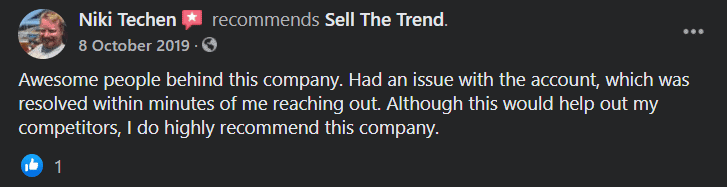 Sell The Trend User Review 4