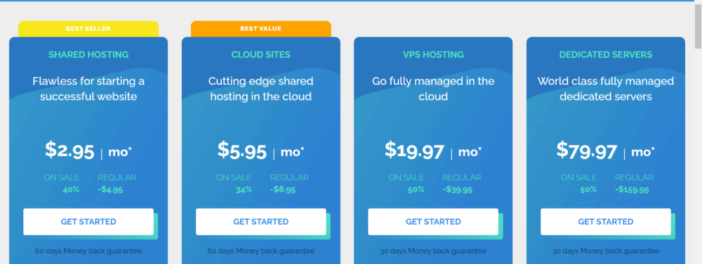 TMDhosting for wordpress plans with disconts