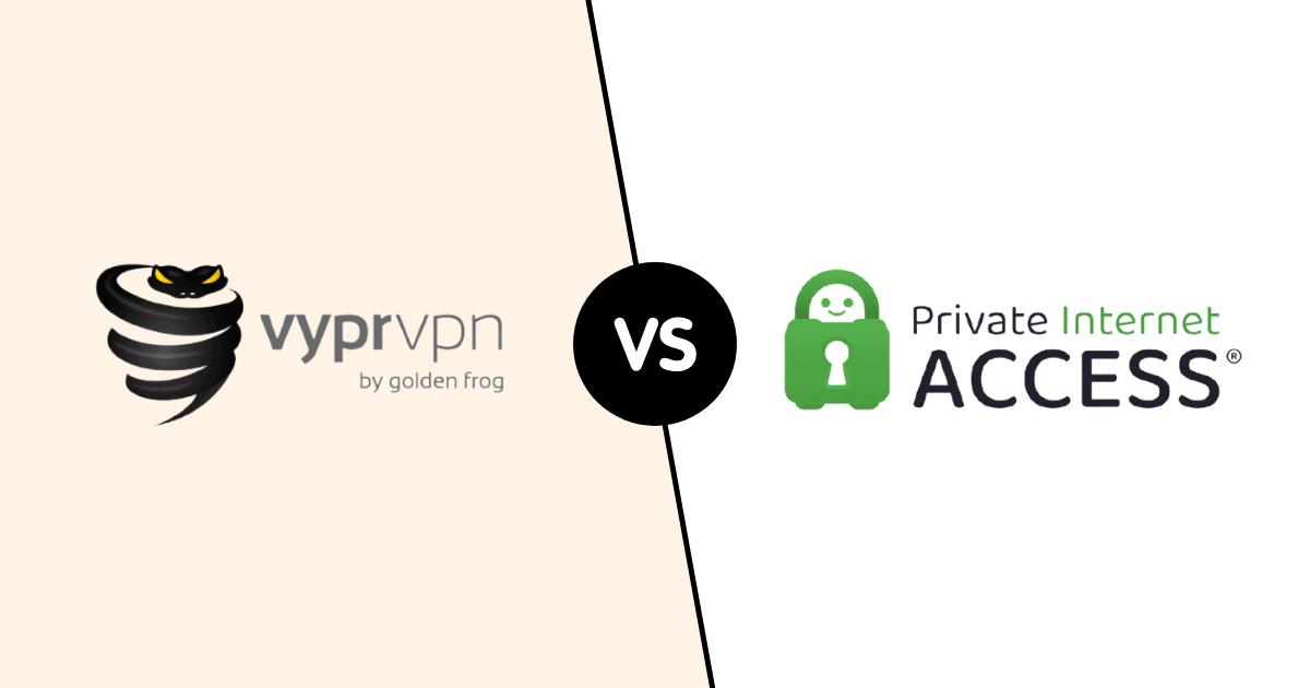 VyperVPN vs PIA