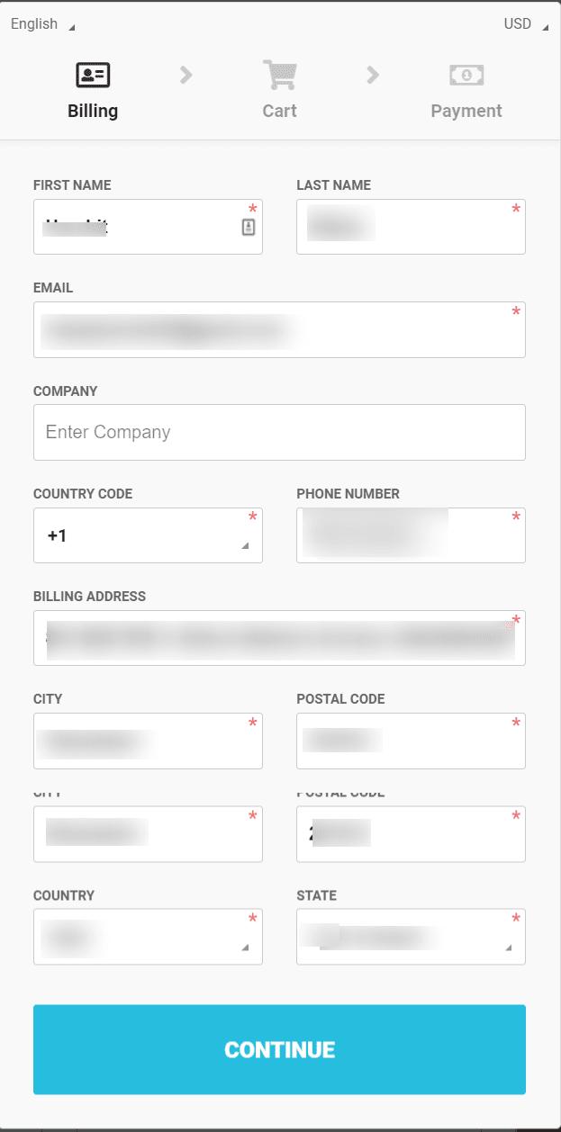 WebinarJam checkout page- webinarjam coupon cides